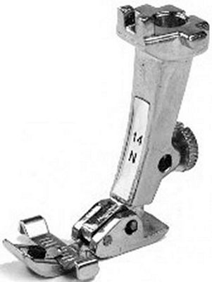 FOOT Bernina 130-190 series Zipper with guide #14N