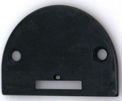 NEEDLE PLATE Leather large oblong hole