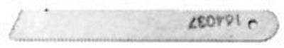 KNIFE Singer 246 Lower