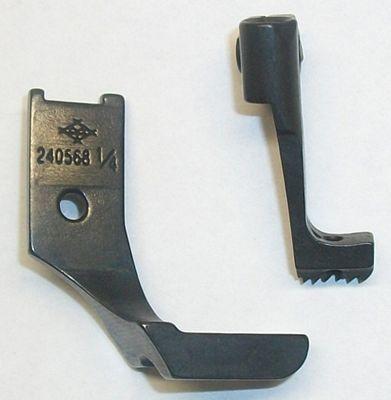 Welt Foot 1/4 Single Toe with Teeth (Set)