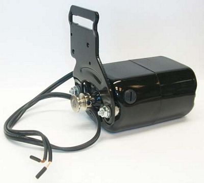 MOTOR 110 Volt AC K-Bracket Black 1/15hp
