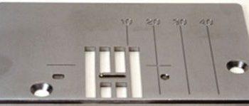 NEEDLE PLATE Singer Quantum CXL XL1 XL50 zig zag