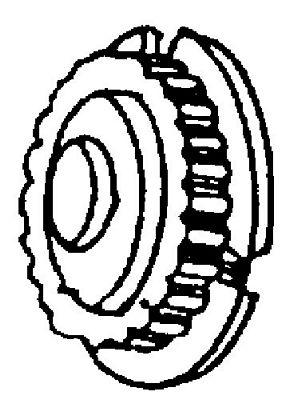 PULLEY Singer 6212 CG500 CG550 Timing Belt