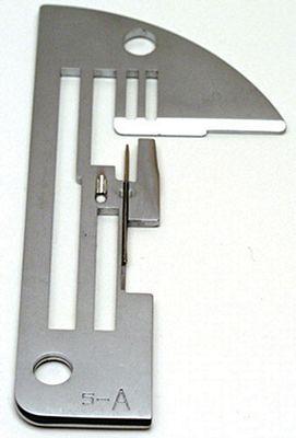 NEEDLE PLATE SERGER Elna L-5DC (Pro-5DC) plate A