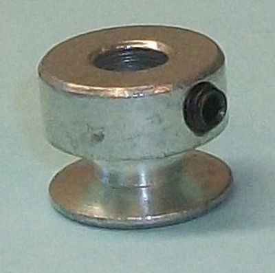 "PULLEY Steel 1/4"" Hole 20mm Motor"
