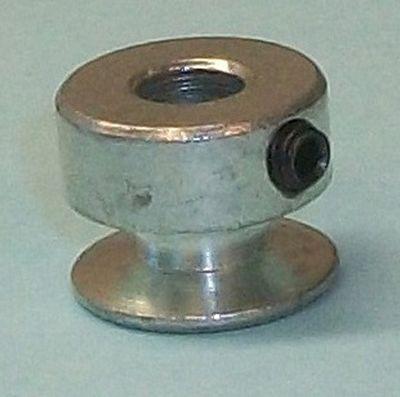"""PULLEY Steel 1/4"""" Hole 20mm Motor"""