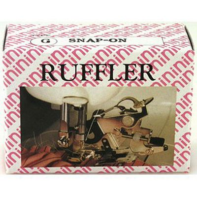 Ruffler Snap-On Adjustable with non stick fork.