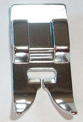 FOOT Satin stitch metal snap on Japanese style 7mm