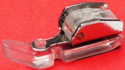 FOOT Zipper Singer Vertical Needle Snap-On