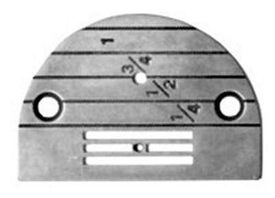 NEEDLE PLATE Singer 31-15 regular with large hole