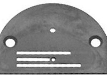 NEEDLE PLATE Singer 188K 188U chrome finish