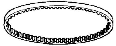BELT Singer 1060E cog type (206XL)