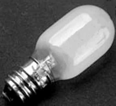 BULB 15 watt 7/16 screw in frosted globe