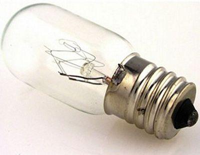 BULB 15 watt 5/8 screw base clear