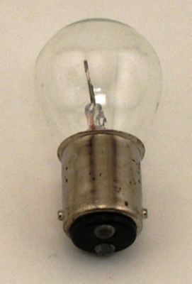 BULB 6 volt bayonet double contact frosted