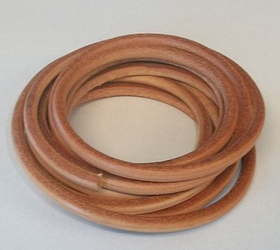 Belting, Leather- 1/4', package approx 10 feet