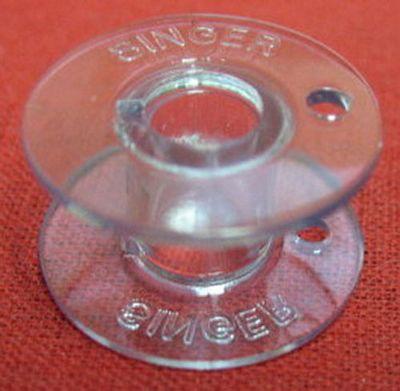 BOBBIN Singer 15 class plastic  sold each