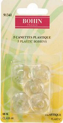 Plastic Bobbins Class 66, 5ct/package