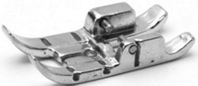 """FOOT Pfaff 7500 1/4"""" Quilting metal with IDT"""