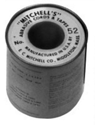 Emery Tape 1/4 inch-150 Grit