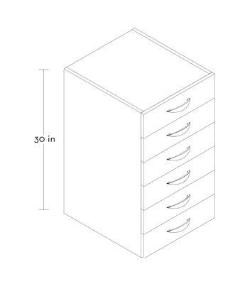 #4 Loft Series- High Rise Drawers 1