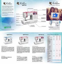Eversewn Sparrow Machine Brochure 25/pkg 1