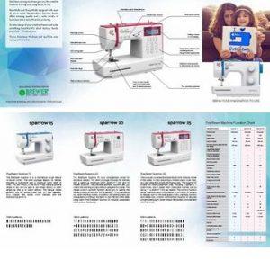 Eversewn Sparrow Machine Brochure 25/pkg