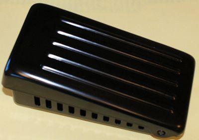 FOOT CONTROL Metal Case Carbon Pile Premium Black