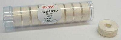 Prewound Bobbin Fil-Tec L Style Cotton Cream