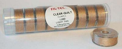 Prewound Bobbin Fil-Tec L Style Cotton Light Tan