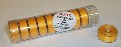Prewound Bobbin Fil-Tec L Style Poly Bright Gold