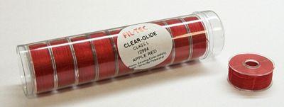 Prewound Bobbin FiL-Tec L Style Poly Candy App Red