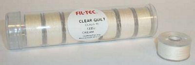 Prewound Bobbin Fil-Tec 15 Class Cotton Cream