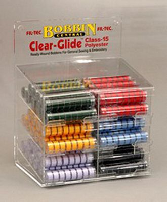 Prewound Bobbin Display Fil-Tec 15 Class Polyester