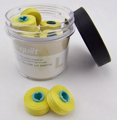 Prewound Bobbin Magna Qlt L-Bright Yellow