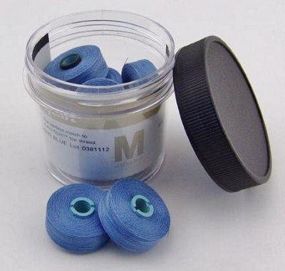 Hawaiian Blue Prewound Bobbin Magna Qlt M
