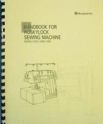 INSTRUCTION BOOK Viking 1000L 1001L serger