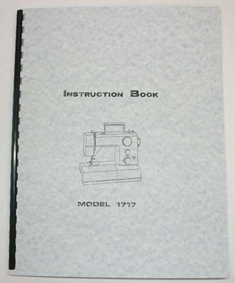 INSTRUCTION BOOK White 1717