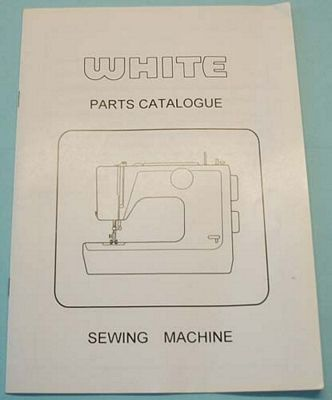 INSTRUCTION BOOK White 1800 serger