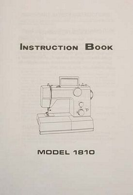 INSTRUCTION BOOK White 1810
