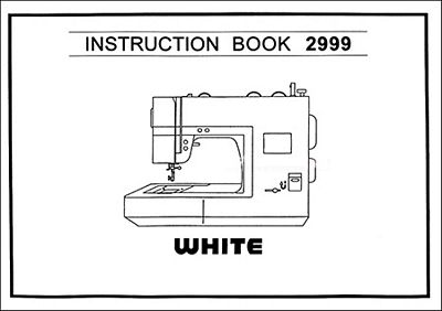 INSTRUCTION BOOK White 2999
