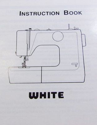 INSTRUCTION BOOK White 4042