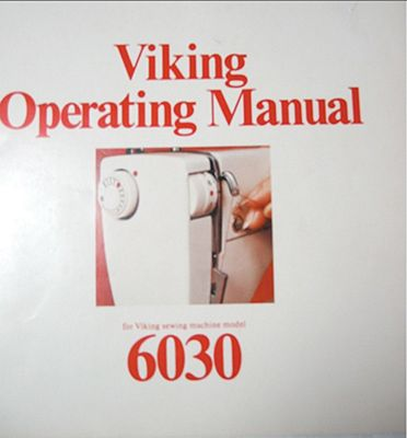 Instruction Book Viking 6030 6270 6430