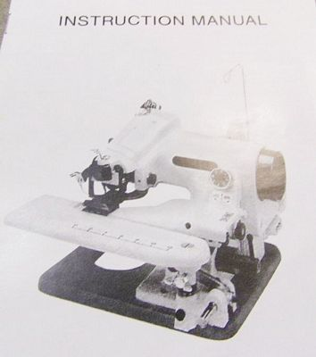 INSTRUCTION BOOK Blindstitcher BLST-2