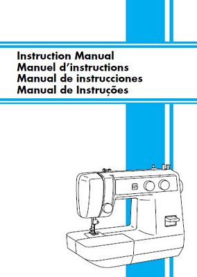 INSTRUCTION BOOK Brother LS1217