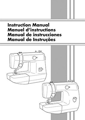 INSTRUCTION BOOK Brother VX1435 LS1520 LS2220