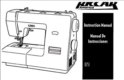 Instruction Book Riccar 751