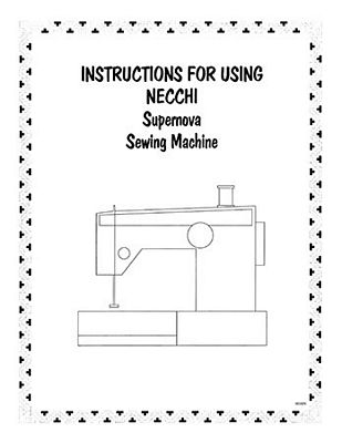 Instruction Book Nec Supernova