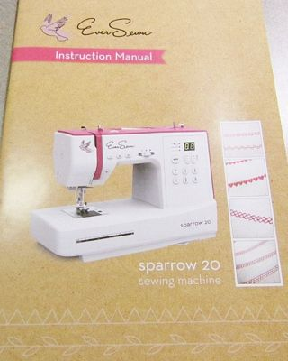 Instruction book EverSewn Sparrow 20