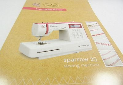 Instruction book EverSewn Sparrow 25